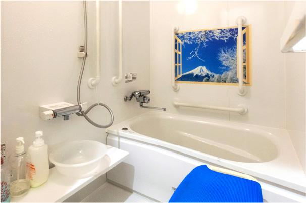 個浴でプライバシー保護